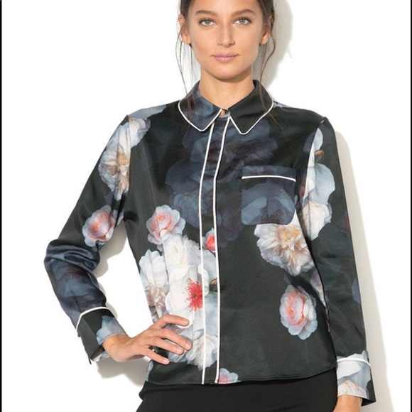 Ted Baker London Lanei Chelsea Piped blouse 0